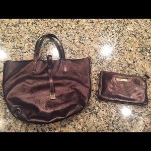 Tiffany & Co purse w/matching wallet.